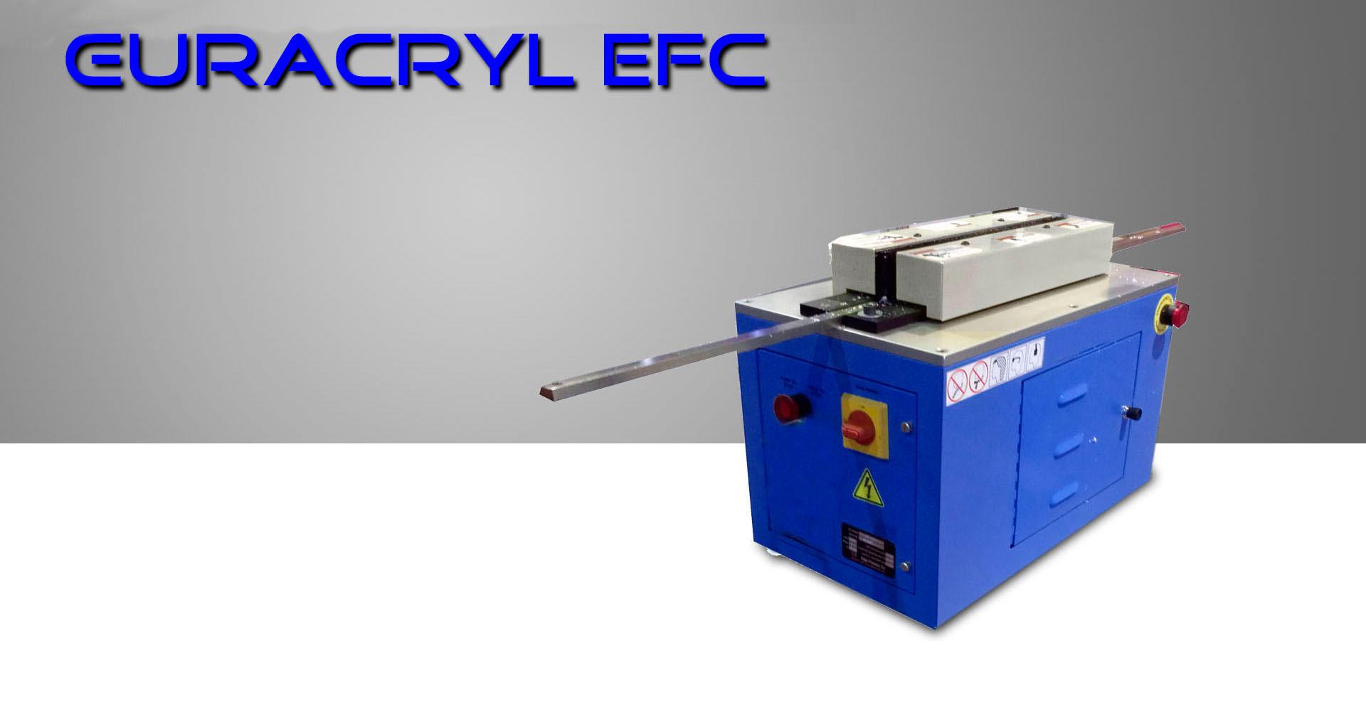 Pulidora de cantos vertical EFC Euracryl