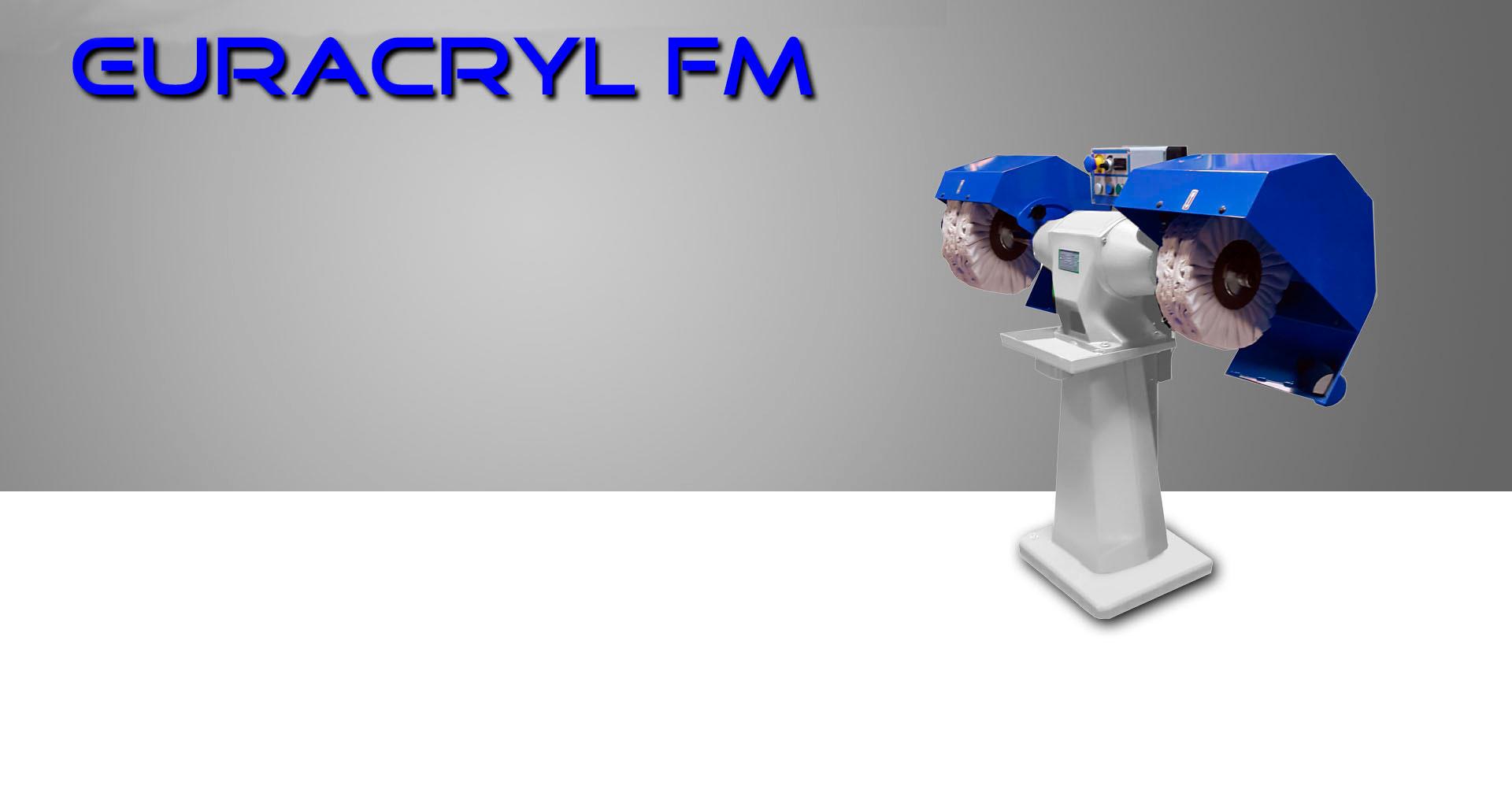 Pulidora de cantos FM Euracryl
