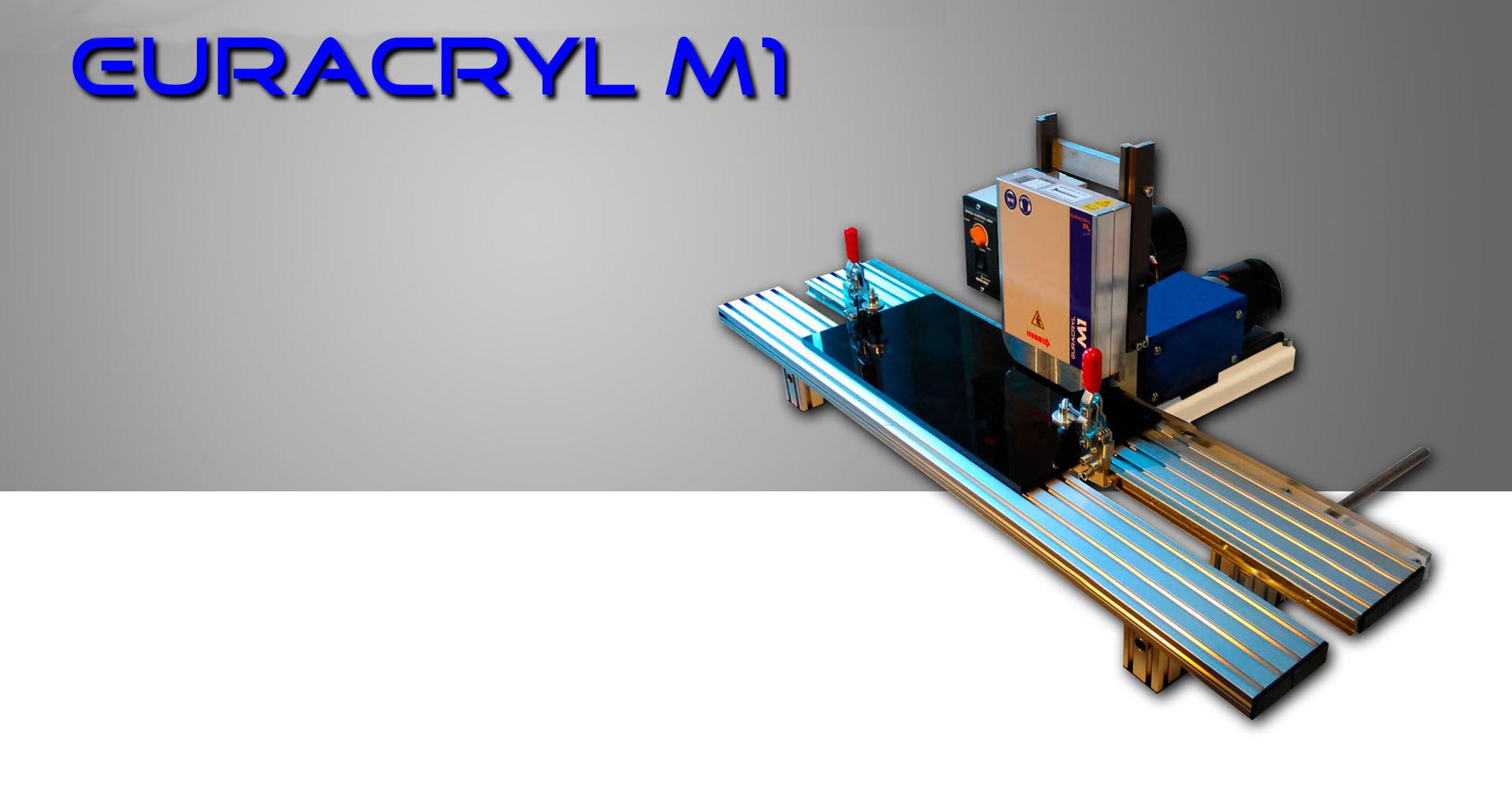 Pulidora de cantos M1 euracryl
