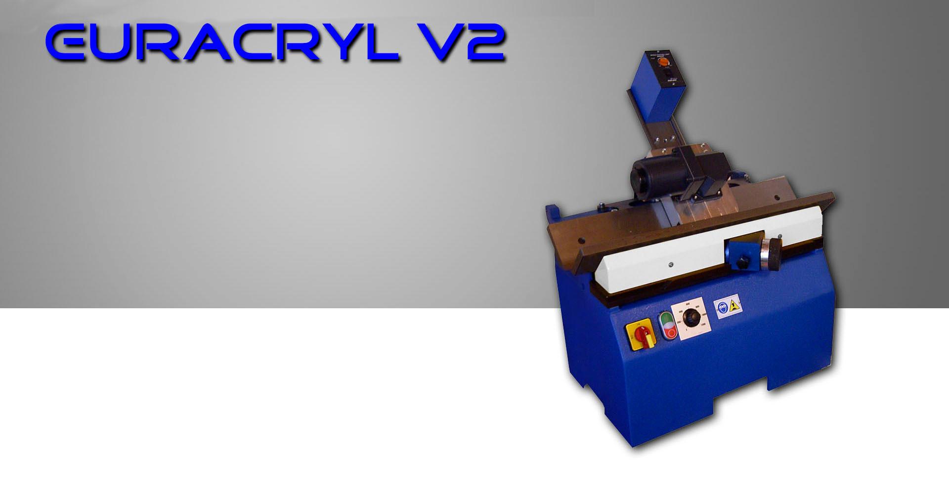 Pulidora biseladora V2 euracryl