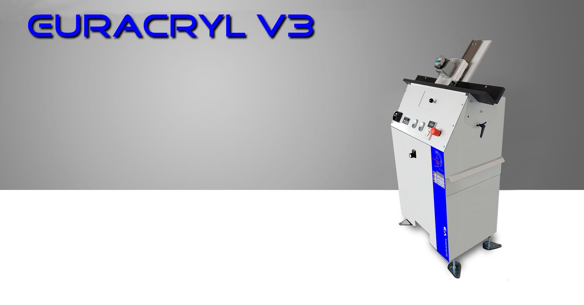 Pulidora de cantos V3 Euracryl gmbh