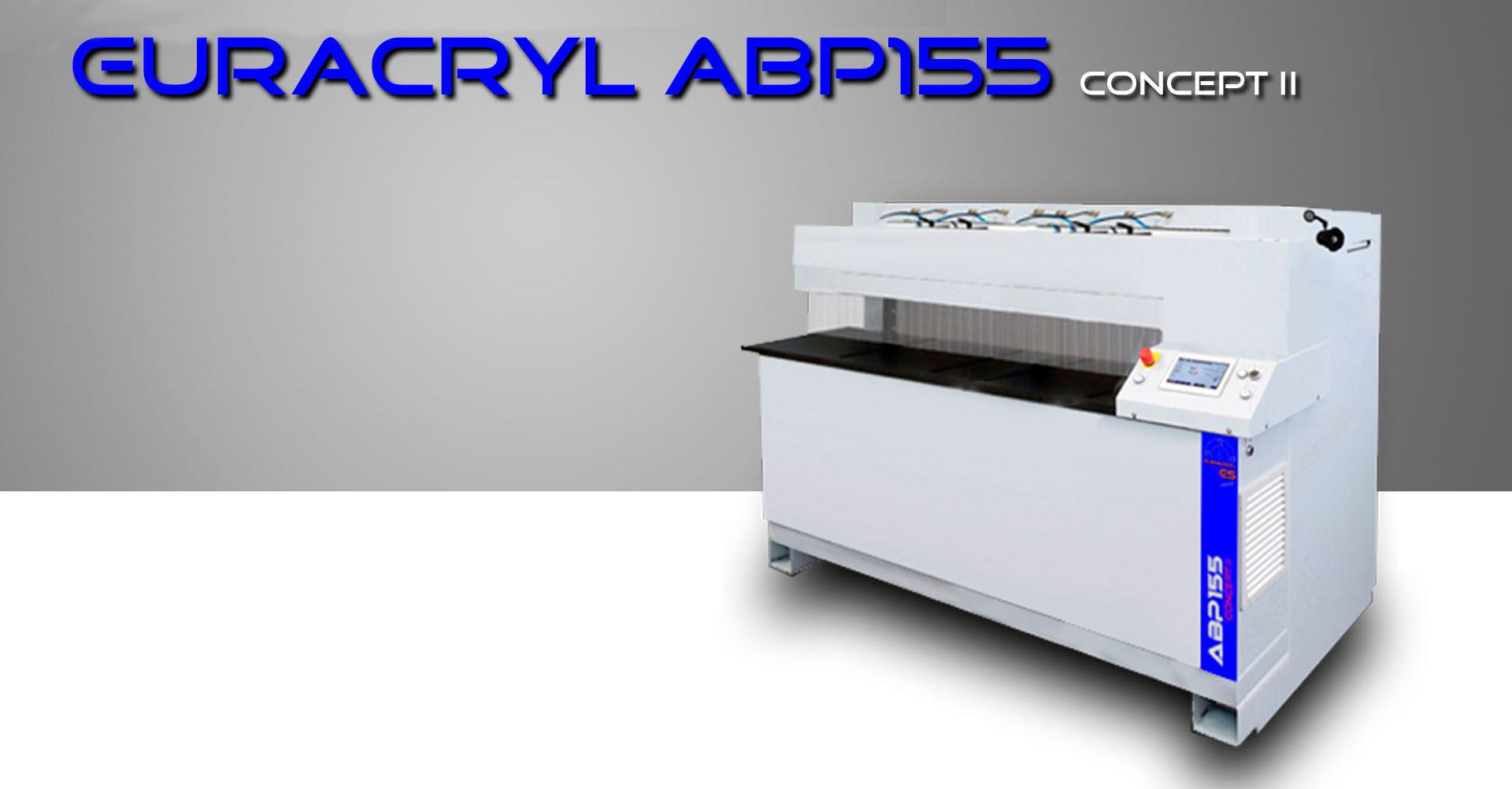 abp 155 Cconcept II - AURACRYL poliermaschine