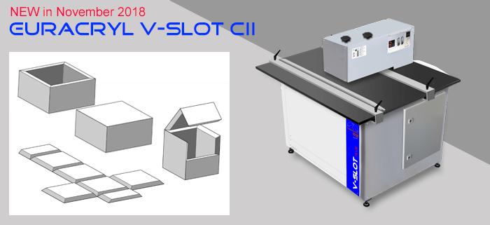 Neu VSLOT Kantenpoliermaschinen 2018 Euracryl