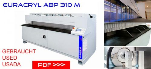Pulidora abp usada | used abp polishing machine | benutzt abp kantenpoliermaschine