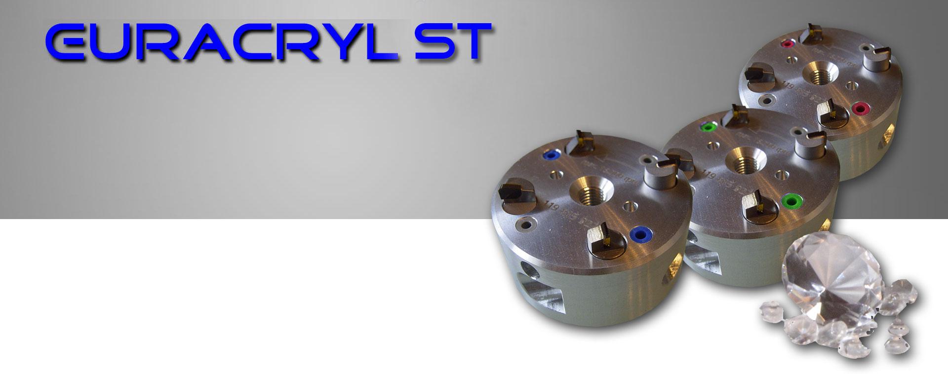 EURACRYL ST Werkzeuge für Kantenpoliermaschinen