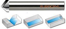 Herramienta Diamond Line PLFV para CNC
