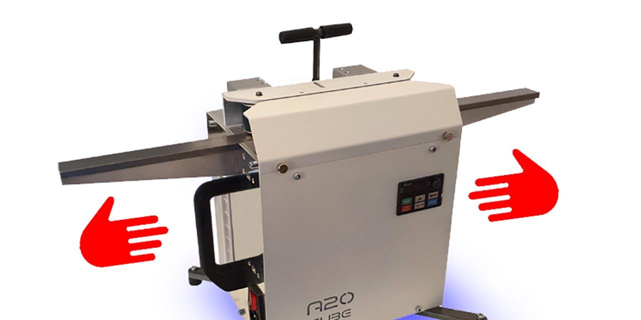 control movil de máquina A2o Euracryl - pulidora de metacrilato
