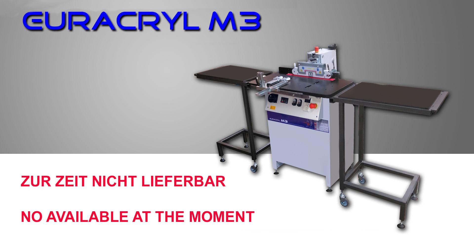 Kantenpoliermaschine M3 euracryl