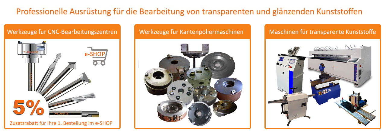 Euracryl CNC Kantenpoliermaschine für Acrylglas