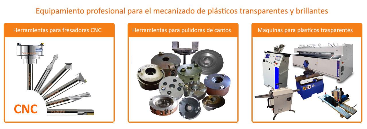 Euracryl CNC Pulidora de metacrilato acrilico España