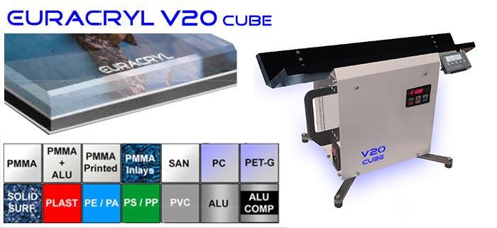 Euracryl V20 Mini-Desktop-Poliermaschine